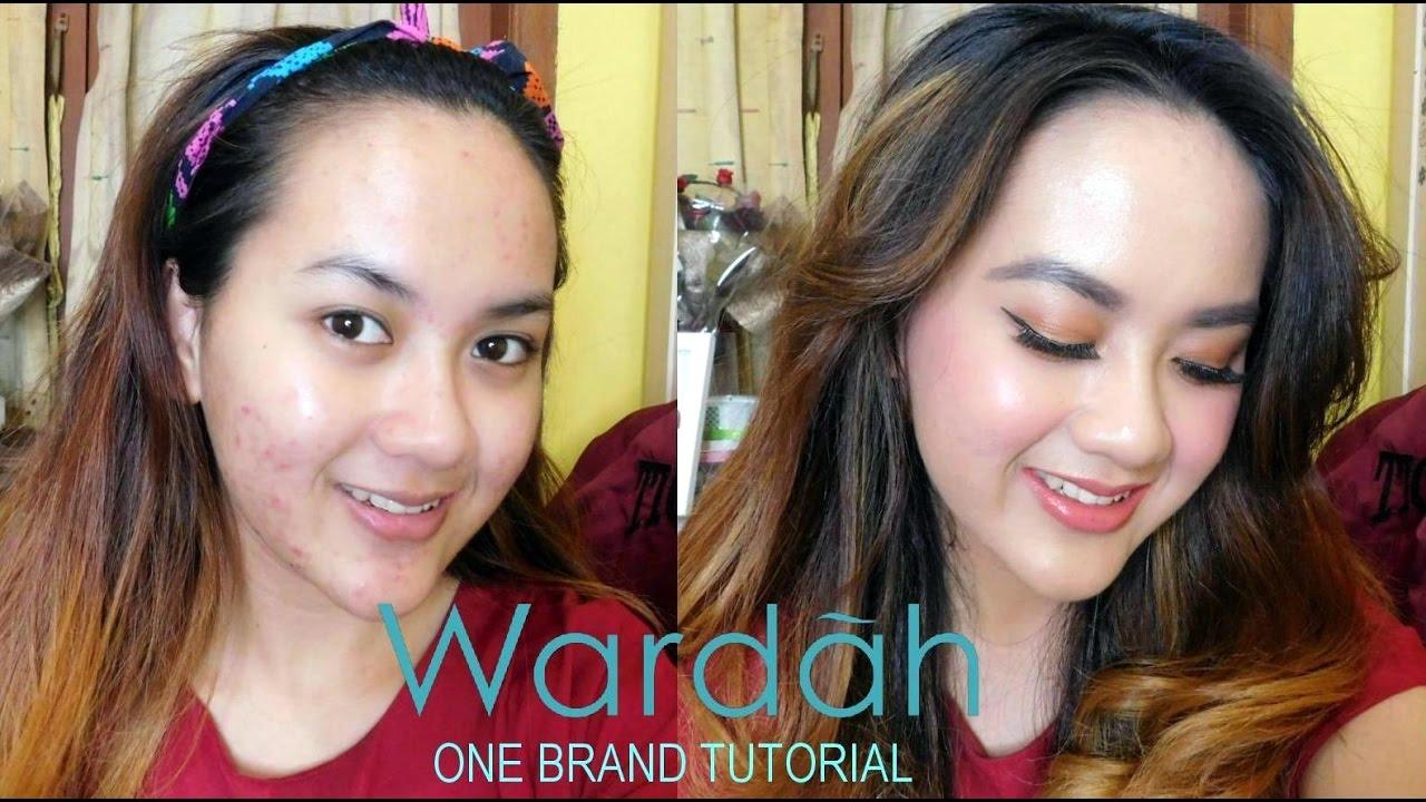 """WARDAH"" ONE BRAND TUTORIAL - Tips Makeup / Cover Jerawat (Bahasa Indonesia) - YouTube"