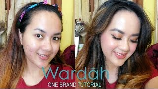 """WARDAH"" ONE BRAND TUTORIAL -  Tips Makeup  / Cover Jerawat (Bahasa Indonesia)"