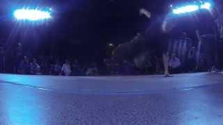 FLYING BUDDHA vs PJ /bboy solo /FASTFOOT TV