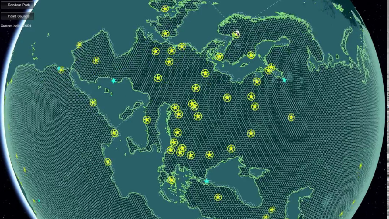 Hexagonal grid preview in world political map globe edition youtube hexagonal grid preview in world political map globe edition gumiabroncs Image collections