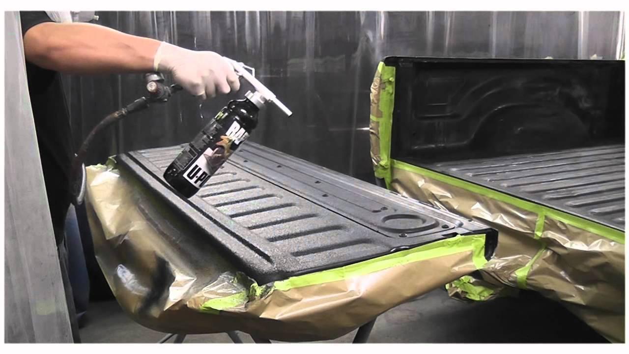 2006 Dodge Ram Spray On Bedliner.wmv - YouTube