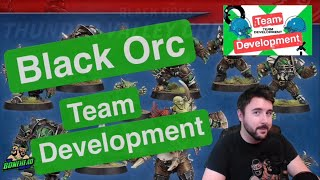 Black Orc Team Development - Blood Bowl 2020 Players & Skills! (Bonehead Podcast)