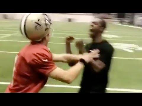 Drew Brees Flips Out Over Rajon Rondo