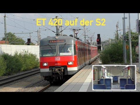 Der ET 420 auf der gesamten S2 in München im Einsatz! - Besichtigung und Mitfahrt im ET 420