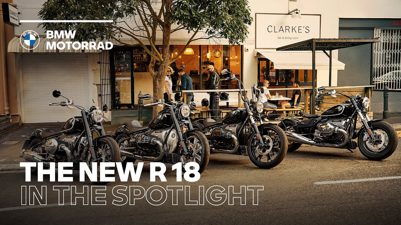 IN THE SPOTLIGHT: The New BMW R 18