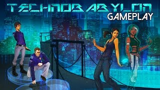 Technobabylon Gameplay (PC HD)
