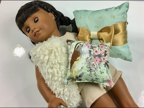 How to make doll pillows Easy sewing for beginners
