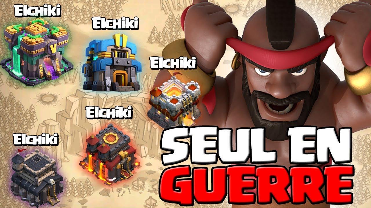 Download SEUL EN GUERRE AVEC MES 5 COMPTES sur Clash of Clans !