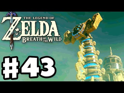 Divine Beast Vah Naboris! - The Legend of Zelda: Breath of the Wild - Gameplay Part 43