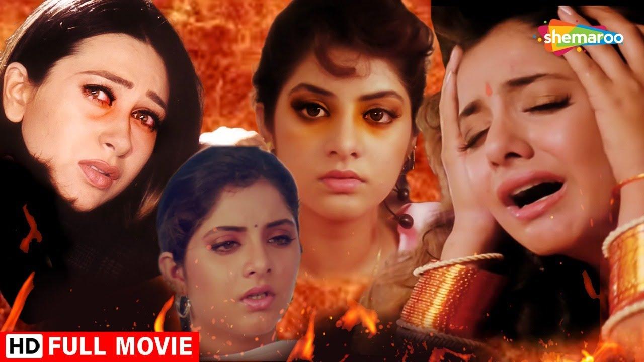 Download दिव्या भारती से हुयी बड़ी भूल सच्चे प्यार को पहचान नहीं पायी -DIVYA BHARTI POPULAR HINDI MOVIE - GEET