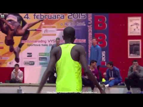 Mutaz Barsim Jumps 2.40m (New Asian Record) - Banska Bystrica