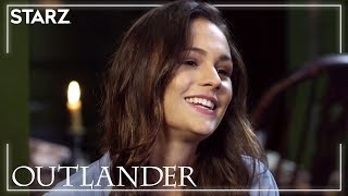 Outlander | Entertainment Tonight Interviews Sophie Skelton | STARZ
