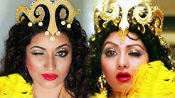 Recreating Sridevi's Signature Bollywood Makeup Look | My Tribute