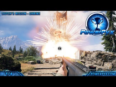 Far Cry 5 Troublemaker Trophy Achievement Guide Destroying