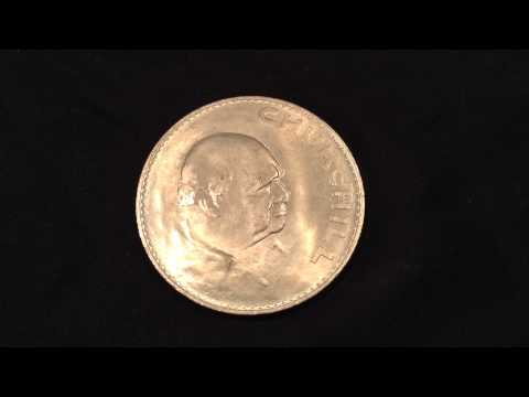 Coin Of The Day (#15) - 6th August 2014 - Churchill Crown