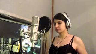 Revontulet recording vocals for the debut album