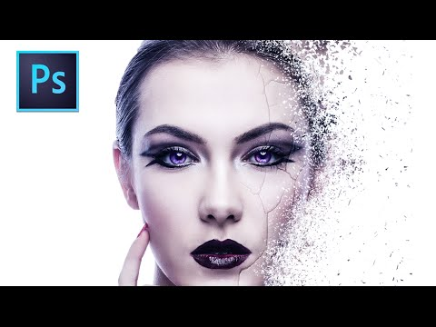 Disintegration Effect Photoshop Tutorial Youtube