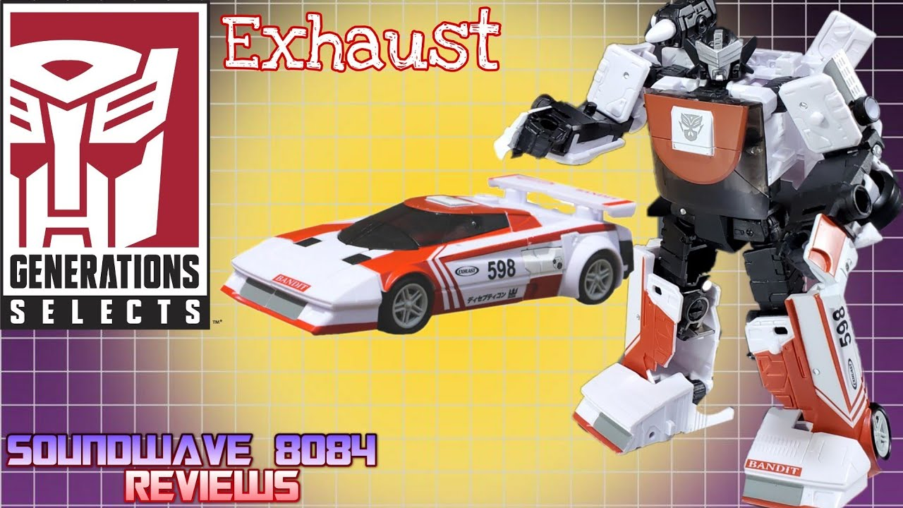 Generations Selects Exhaust Review By Soundwave 8084