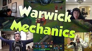 League of Legends Funny Stream Moments #36 -WARWICK MECHANICS!