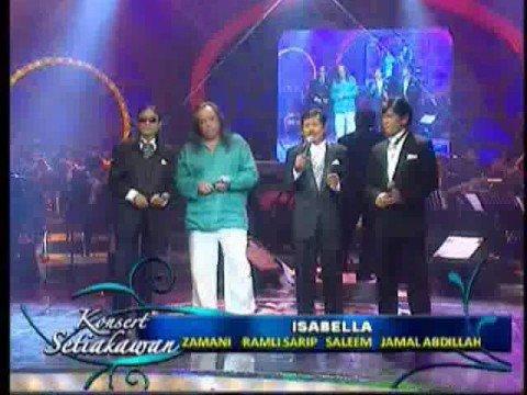 Isabella 98-Ramli Sarip,Jamal Abdillah,Saleem & Zamani Slam