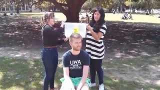 Tom Henderson does the ALS/MND Ice Bucket Challenge