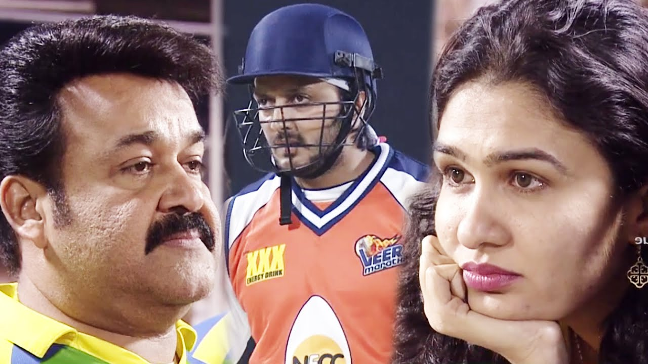 Kerala Strikers Captain Mohanlal Upset With Crazy Four Shots By Riteish Deshmukh