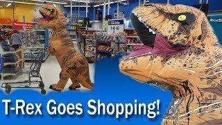 T-Rex goes Shopping