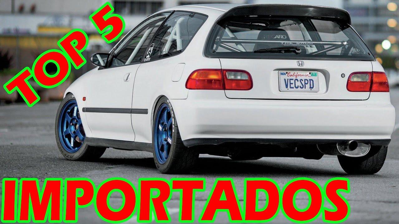 TOP 5 CARROS IMPORTADOS 90'S BARATOS DE MANTER!