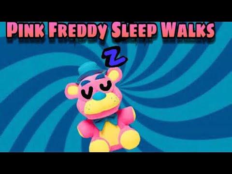 FNaF Plush: Pink Freddy Sleep Walks