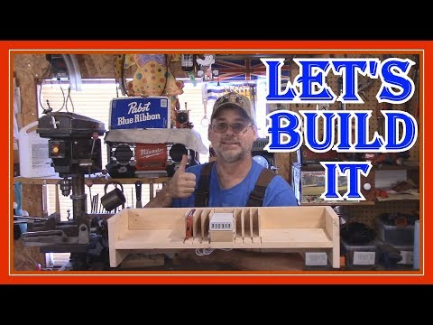 HOW TO BUILD A CELL PHONE CHARGING STATION ORGANIZER - FOR MY TINY CABIN IN THE WOODS
