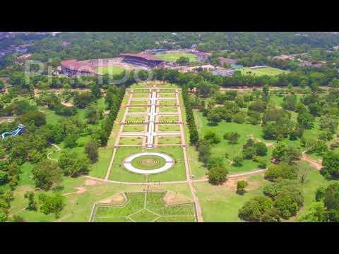 Jubilee Park Jamshedpur Aerial View