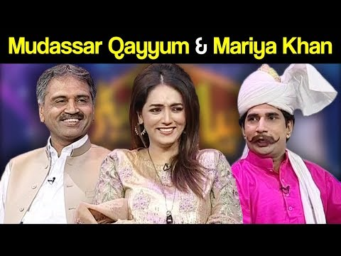 Mudassar Qayyum & Mariya Khan - Syasi Theater - 11 April 2018 - Express News