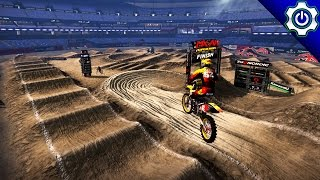 MX vs ATV Supercross Encore - East Rutherford SX Gameplay