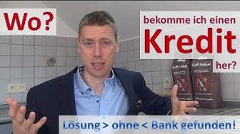KREDIT? Lösung ohne Bank gefunden! :)