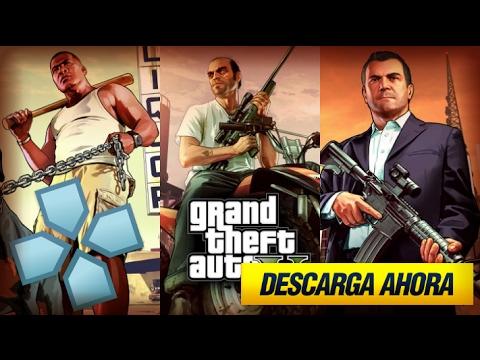 Gta V Para Emulador Ppsspp Android Y Psp Mod Youtube