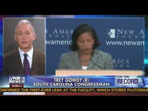 Trey Gowdy Owns Susan Rice 'I Get Tougher Questions At The Drive Through'