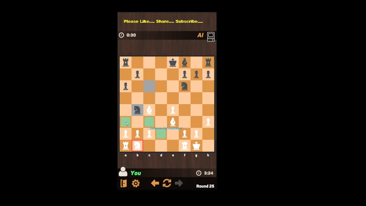 Chess Candidate Master at level 3 – Win – Match 1 – Chess Mobile App