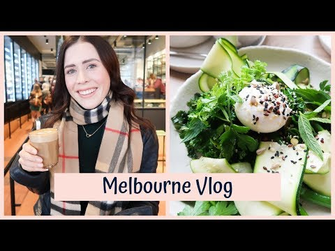 A Weekend In Melbourne | Food, Coffee & Shopping