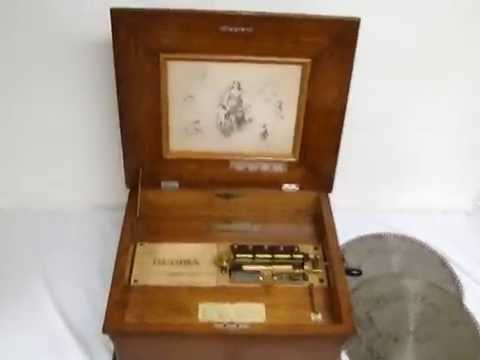 Early 1900s Regina Disc Playing music Box