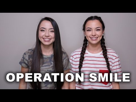 Operation Smile - Merrell Twins