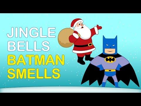 JINGLE BELLS (BATMAN SMELLS!) | Christmas Songs | Nursery Rhymes TV | English Songs For Kids