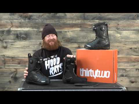 2016 Thirty Two Binary BOA Snowboard Boot Review: The-House.com