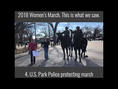 The Daily Signal went to the 2018 Women's March. This is what we saw. | The Daily Signal