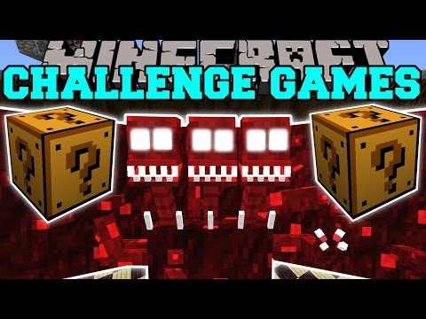 Challenge games lucky block mod modded mini game yourepeat
