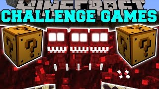 Minecraft: DREADBEAST CHALLENGE GAMES - Lucky Block Mod - Modded Mini-Game