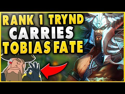 #1 TRYND WORLD DUO FT. TOBIAS FATE IN HIGH-ELO! THE ULTIMATE DUO! - League of Legends
