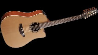 Takamine P3DC-12 string Review/Unboxing