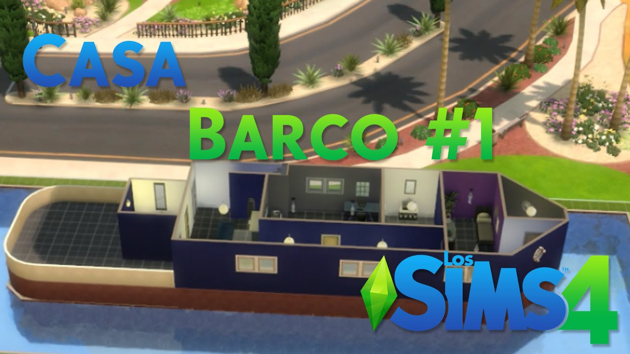 Los sims 4 casa barco 1 youtube for Sims 4 piani di casa