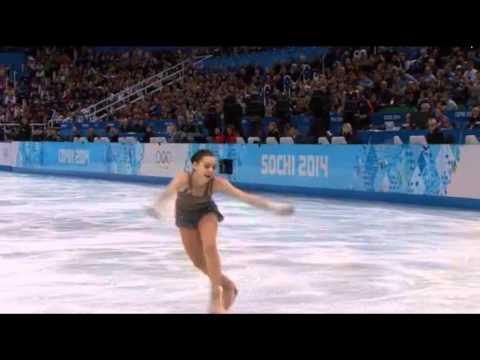 Аделина Сотникова! Произвольная программа на Олимпиаде 2014.