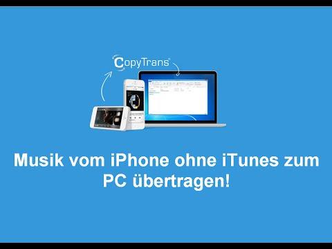 Musik vom iPhone, iPad oder iPod ohne iTunes zum PC übertragen